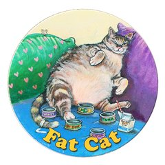Fat Cat Absorbent Coaster Set