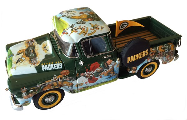 Toys For Trucks Green Bay : Collector series die cast green bay packers fan pickup