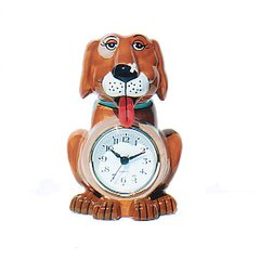 3D Canine Multipurpose Clock and Bank