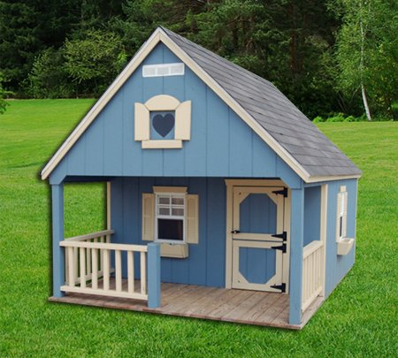 Hideout Playhouse Painted Or Wood 8x10 Leland S Of