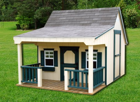 Cottage Playhouse Painted Or Wood 8x12 Gina S Custom