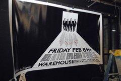 WOLVES large format HUGE 1-of-a-kind concert poster