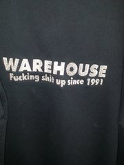 The Rarest WAREHOUSE Vintage unworn Hoodie in the world!