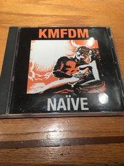 """KMFDM  """"NAIVE"""" original orange cover CD rare"""