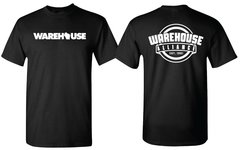 *NEW* WAREHOUSE & WAREHOUSE ALLIANCE T-shirt black