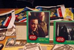 STAR WARS 1977 trading cards #231 & #204 General Cassio Tagge, Darth Vader ORIGINAL