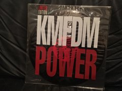 KMFDM - Power 12 inch single vinyl, rare, hand-numbered, autographed in person