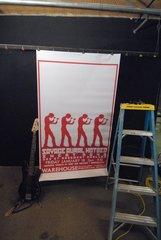 SAVAGE AURAL HOTBED large format HUGE 1-of-a-kind Concert Poster