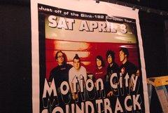 MOTION CITY SOUNDTRACK huge color 1-of-a-kind 2004 Concert Poster 04/03/04