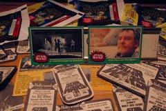 STAR WARS trading cards #212 & #238, Stormtroopers, Darth Vader, Uncle Owen Lars, Phil Brown ORIGINAL