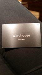 $50 Warehouse Gift Card