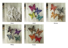 Prima Flowers Fabric Butterfly (Fantasy Collection)