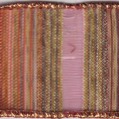 Celebrate It Ribbon 1.5 Inch Harvest Stripe Wired Edge Ribbon