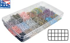Art Bin Prism Series Large 18 Compartment Box