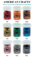 American Crafts Zing Glitter Embossing Powder
