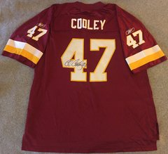 Washington Redskins Autographed #47 Chris Cooley Jersey