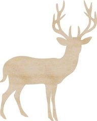 KaiserCraft Wooden Flourishes Deer