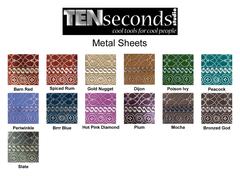 Ten Seconds Studio Metal Sheets