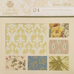 Anna Griffin 24 Designer Scrapbook Cardstock Pack (Francesca Collection)