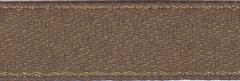 American Crafts Ribbon 3/8 Inch Boutique Brunet Metallic Satin Ribbon