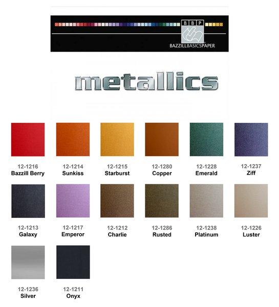 Bazzill Metallic Cardstock | Angelic Creations LLC