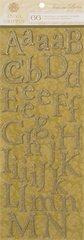 Anna Griffin Chipboard Alphabet Stickers (Francesca Collection)