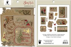 Fancy Pants Embellishment Cards (Saint Nick Collection)