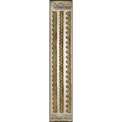 Tim Holtz Alterations Sizzix Vintage Lace Decorative Strip Die