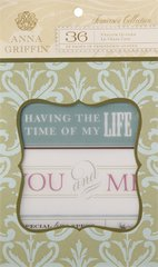 Anna Griffin Vellum Quote Pad (Francesca Collection)