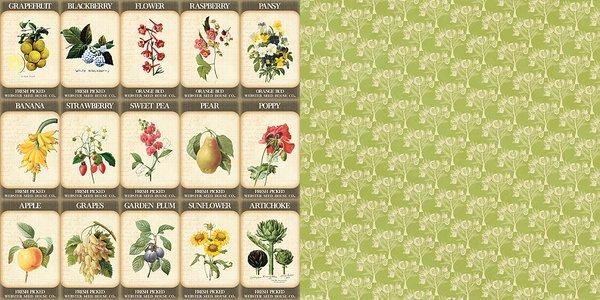 Webster's Pages Gardner's Seeds (Spring Market Collection)