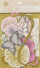 Anna Griffin Die Cut Embellishments (Francesca Collection)