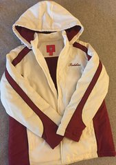 Washington Redskins Ladies XL White Parka Jacket