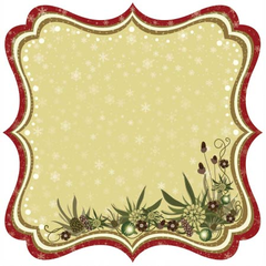 Best Creation Christmas Joy Die Cut (Merry Christmas Collection)