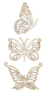KaiserCraft Wooden Flourishes Magical Butterflies