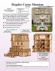 Laser Dollhouse Designs - Hegeler Carus Mansion