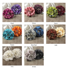 Prima Flowers Fabric Flowers (Carlotta Collection)