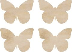 KaiserCraft Wooden Flourishes Butterflies