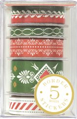 Anna Griffin Border Roll Stickers (Holiday Traditions Collection)