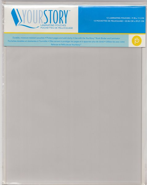 Provo Craft 9 Quot X 11 5 Quot Your Story Laminating Pouches