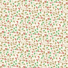 Anna Griffin Glitter Holly (Twinkle Bright Collection)