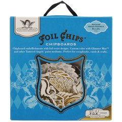 Tattered Angels Royalty Foil Chips (Rockin' Renaissance Collection)