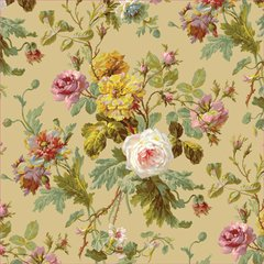 Anna Griffin Taupe Flowers (Francesca Collection)