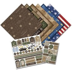 Creative Imaginations U.S. Marines Scrapbook Kit (Signature Military Collection)