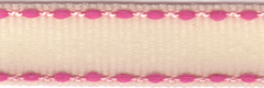 Celebrate It Ribbon 3/8 Inch Light Pink and Hot Pink Grosgrain Ribbon