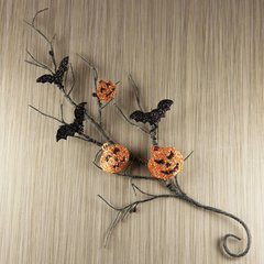 Prima Flowers Vine Embellishments Jack Vine (Trick or Treats Collection)