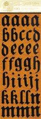 Anna Griffin Chipboard Alphabet Stickers (Esmerelda Collection)