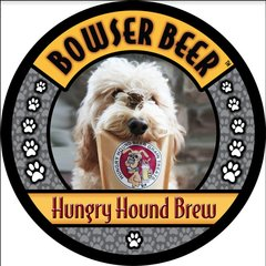Hungry Hound Brew Dog Beer by Bowser Beer