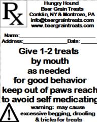 Pawscription for Good Behavior