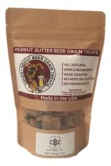 Beer Grain Bites Peanut Butter
