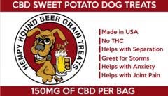 5oz CBD/Hemp Oil Sweet Potato Bites with Turmeric